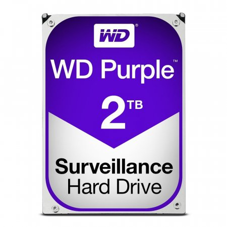 HDD merevlemez 2TB Western Digital Purple 3,5""